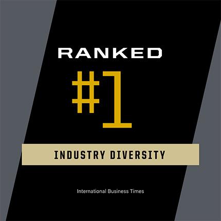 industry diversity ranking